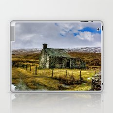 Derilict in the Yorks Dales Laptop & iPad Skin