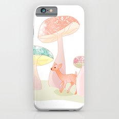 Mushrooms trees Slim Case iPhone 6s