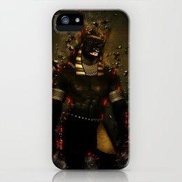 Anubis the egyptian god iPhone Case