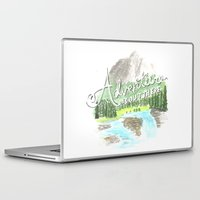 "pixar Laptop & iPad Skins featuring ""Adventure is Out There!"" - Up, Pixar by astoldbycaro"