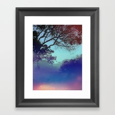 Santa Barbara - The fog rolled in and my mind rolled out. Framed Art Print
