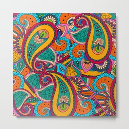 African Style No22 Metal Print