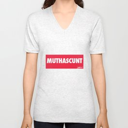 MUTHASCUNT Unisex V-Neck
