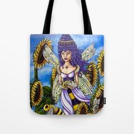 Queen Bee by DeeDee Draz Tote Bag