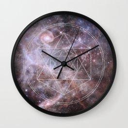 Sacred Geometry Universe Wall Clock
