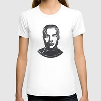 brad pitt T-shirts featuring Brad Pitt by Alejandro de Antonio Fernández
