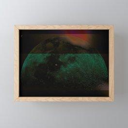 Moon Hues Framed Mini Art Print