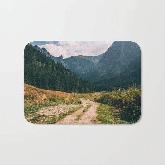 Sunny Mountain Valley Bath Mat