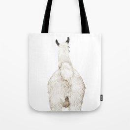 Llama Butt Tote Bag