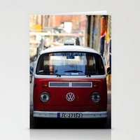 vw Stationery Cards featuring Vw T1 by Nechifor Ionut