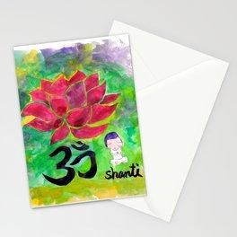 Om Shanti Stationery Cards