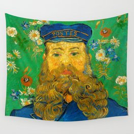Portrait of Joseph Roulin Wall Tapestry