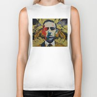 lovecraft Biker Tanks featuring Lovecraft by Michael Creese