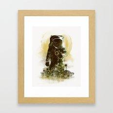 Sunflower Field Framed Art Print