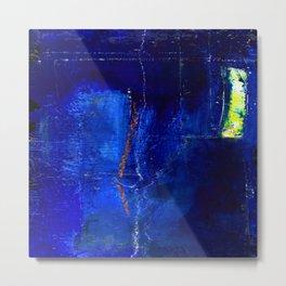 Into The Blue No.3a by Kathy Morton Stanion Metal Print