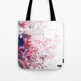 PHYSICALLY: AT WORK, MENTALLY: SOMEWHERE ELSE Tote Bag