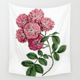 Bramble-Flowered Rose / W. Curtis 1857 Wall Tapestry