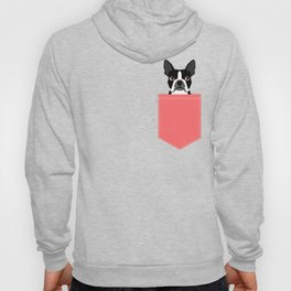 Kennedy - Boston Terrier cute dog themed gifts for small dog owners and Boston Terrier gifts  Hoody