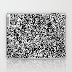 White and Black Laptop & iPad Skin