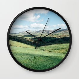 Tunisian Plateau Wall Clock