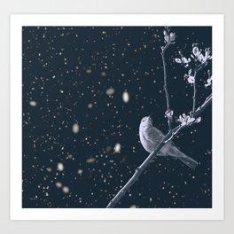 The Bleak Winter Art Print