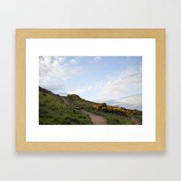 Irish landscape Framed Art Print
