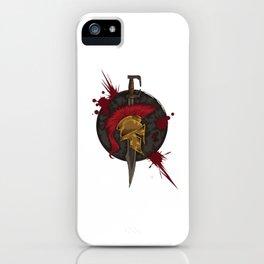 Heroic Spartan Emblem | Warrior Fighter iPhone Case