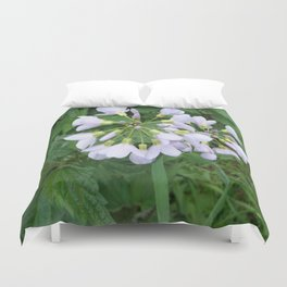 little purple flowers Duvet Cover