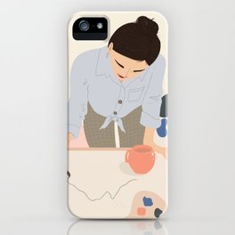 The first line iPhone Case