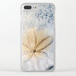Sandy Dollar Clear iPhone Case