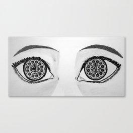 Oreo Eyes Canvas Print