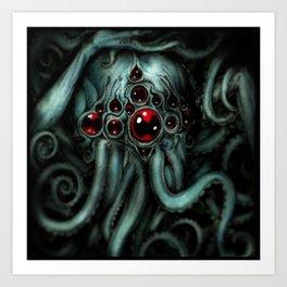 Cthulhu blues Art Print