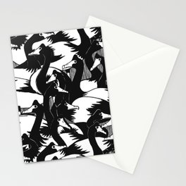 Geese in the 'hood Stationery Cards
