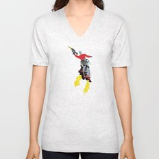 Robot Trousers Unisex V-Neck