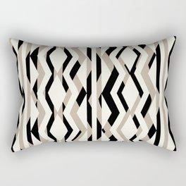 Bold Geometric Rectangular Pillow