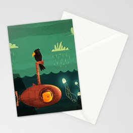 Submarine Stationery Cards