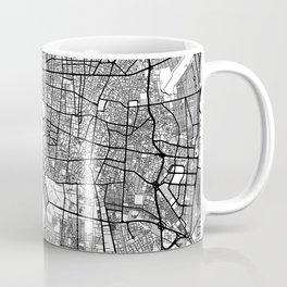 Teheran Map Gray Coffee Mug