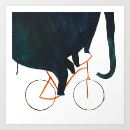 Reason TWO for using bike: Art Print