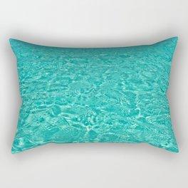 Aqua Heaven Rectangular Pillow
