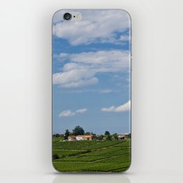 landscape in southern france iPhone Skin