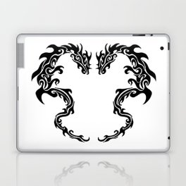 Two Tribal Dragons Laptop & iPad Skin