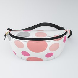 Pink cute dots Fanny Pack