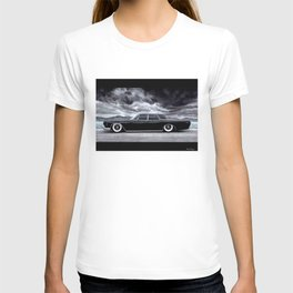 THE SLAMMED AMERICAN LIMOUSINE IN DRAMATIC SCENERY T-shirt