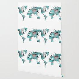 world map 125 art #worldmap #map Wallpaper