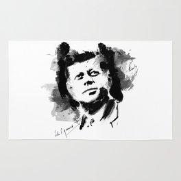 John F. Kennedy JFK Rug