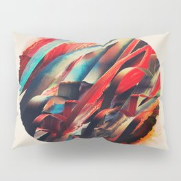 64 Watercolored Lines Pillow Sham