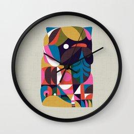 Nordic Pug Wall Clock