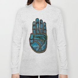 The Hand Of (Free)Time Long Sleeve T-shirt