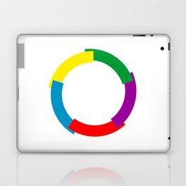 Flag of La Francophonie symbol french language speakers emblem Laptop & iPad Skin