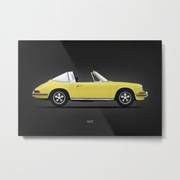 The 911 Targa Metal Print